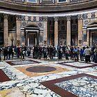 Das Pantheon erwartet den Regen von Georgia Mizuleva