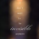 Invisible by Courtney Tomey