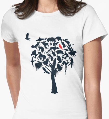 Tree House (Black Print) T-Shirt
