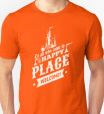 Magic Kingdom - Walt's Happy Place T-Shirt