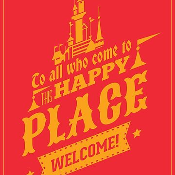Magic Kingdom - Walt's Happy Place by tonysimonetta
