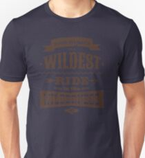 Big Thunder - Brown/Burnt Orange Unisex T-Shirt