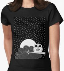 Whoot Owl Womens Fitted T-Shirt