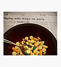 partyman drugs Photographic Print