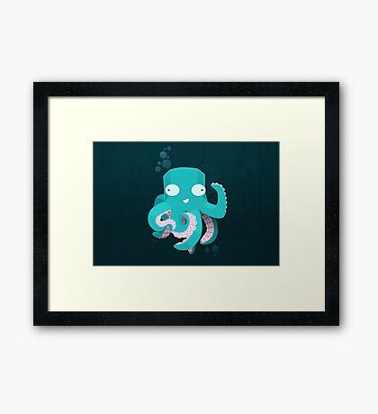 Kraken Framed Print