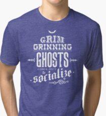 Haunted Mansion - Grim Grinning Ghosts Tri-blend T-Shirt