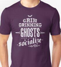 Haunted Mansion - Grim Grinning Ghosts Slim Fit T-Shirt