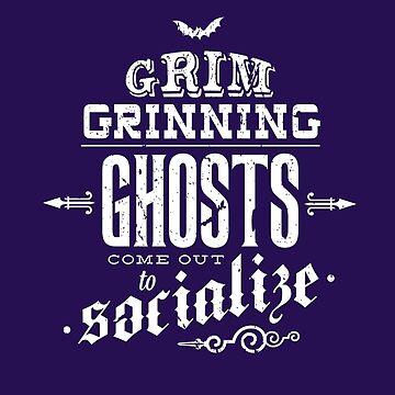 Haunted Mansion - Grim Grinning Ghosts by tonysimonetta
