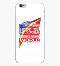 Captain EO - Change the World iPhone Case