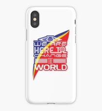 Captain EO - Change the World iPhone Case/Skin