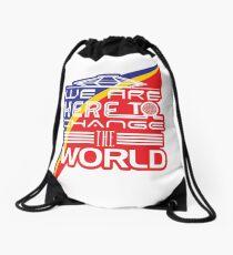 Captain EO - Change the World Drawstring Bag