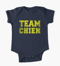 Team Chien, Yellow, One Piece - Short Sleeve