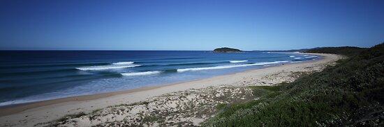 Wario Beach - South Coast, New South Wales by Steve Fox