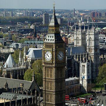 Big Ben in London von fuxart