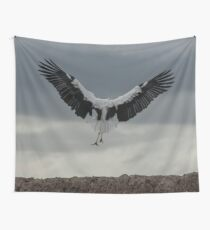 Spread your wings and land  Wall Tapestry