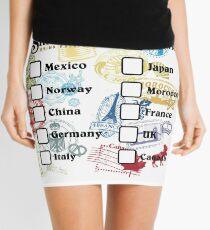 Drink Around the World - EPCOT Passport Mini Skirt