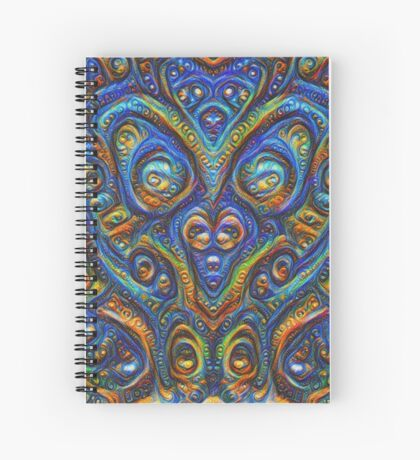 Summer night #DeepDream B Spiral Notebook