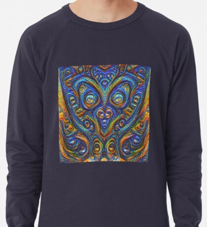 Summer night #DeepDream B Lightweight Sweatshirt