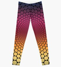 Optical Illusion Linear Gradient (Black) Leggings