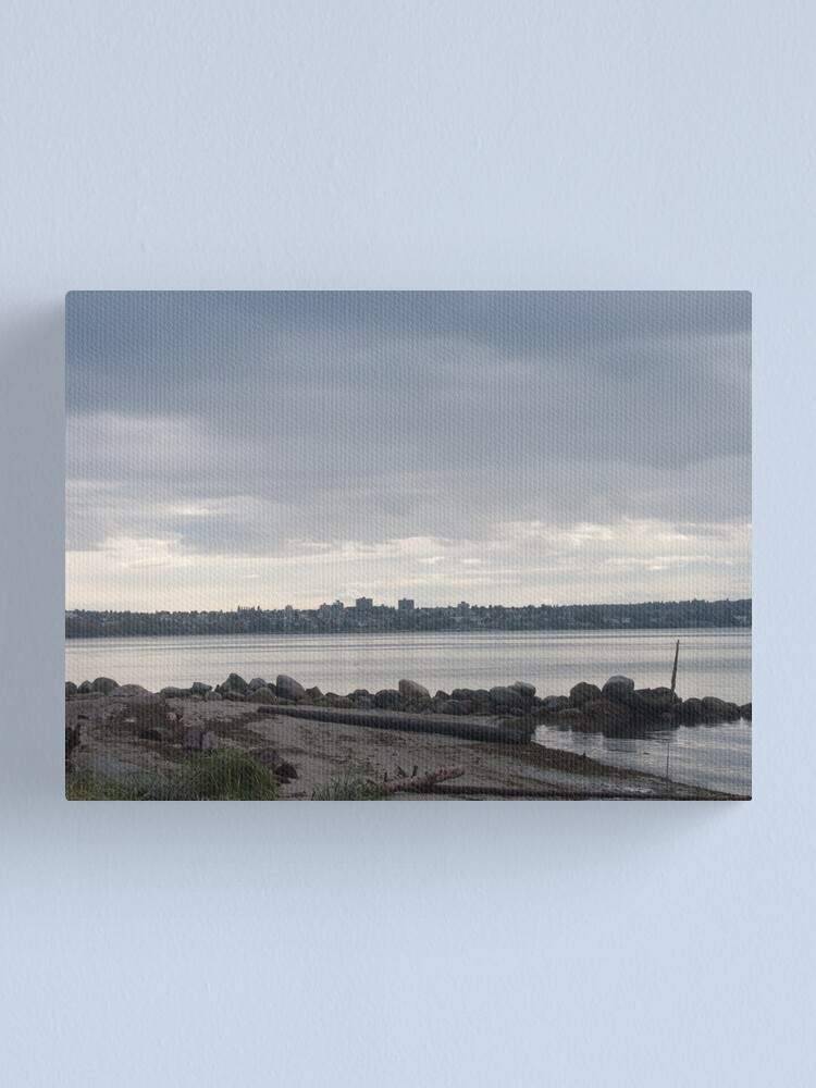 Alternate view of Vancouver grays, Canada, 2007 Canvas Print