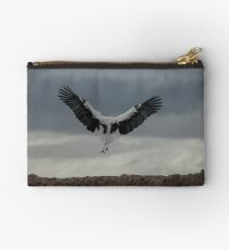 Spread your wings and land  Zipper Pouch