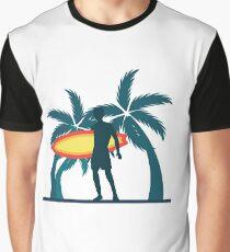 Urlaubsreif Strandurlaub Grafik T-Shirt