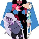 We, are the crystal gems  by Aviva B