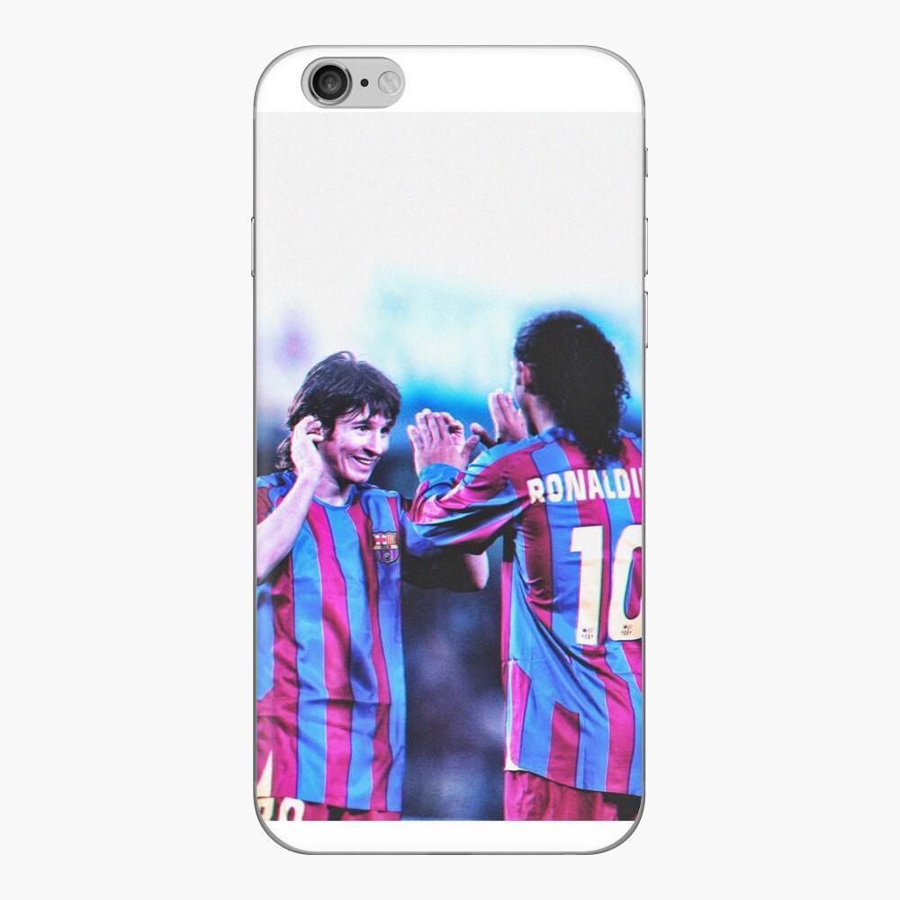 Lionel Messi x Ronaldinho 1x funda y piel para iPhone, Samsung Vinilo para iPhone