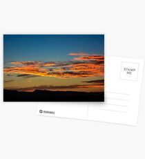Holographic Sunset Postkarten