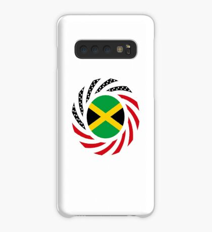 Jamaican American Multinational Patriot Flag Series Case/Skin for Samsung Galaxy
