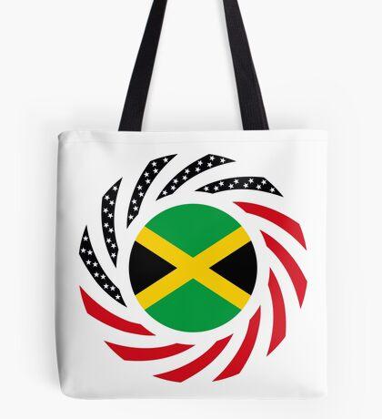 Jamaican American Multinational Patriot Flag Series Tote Bag