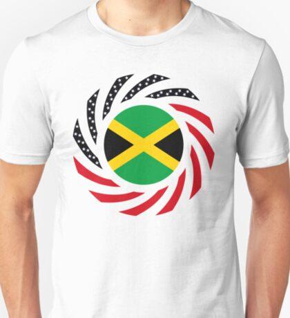 Jamaican American Multinational Patriot Flag Series T-Shirt