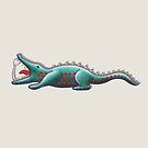 Crocodile appetite by Sunflow