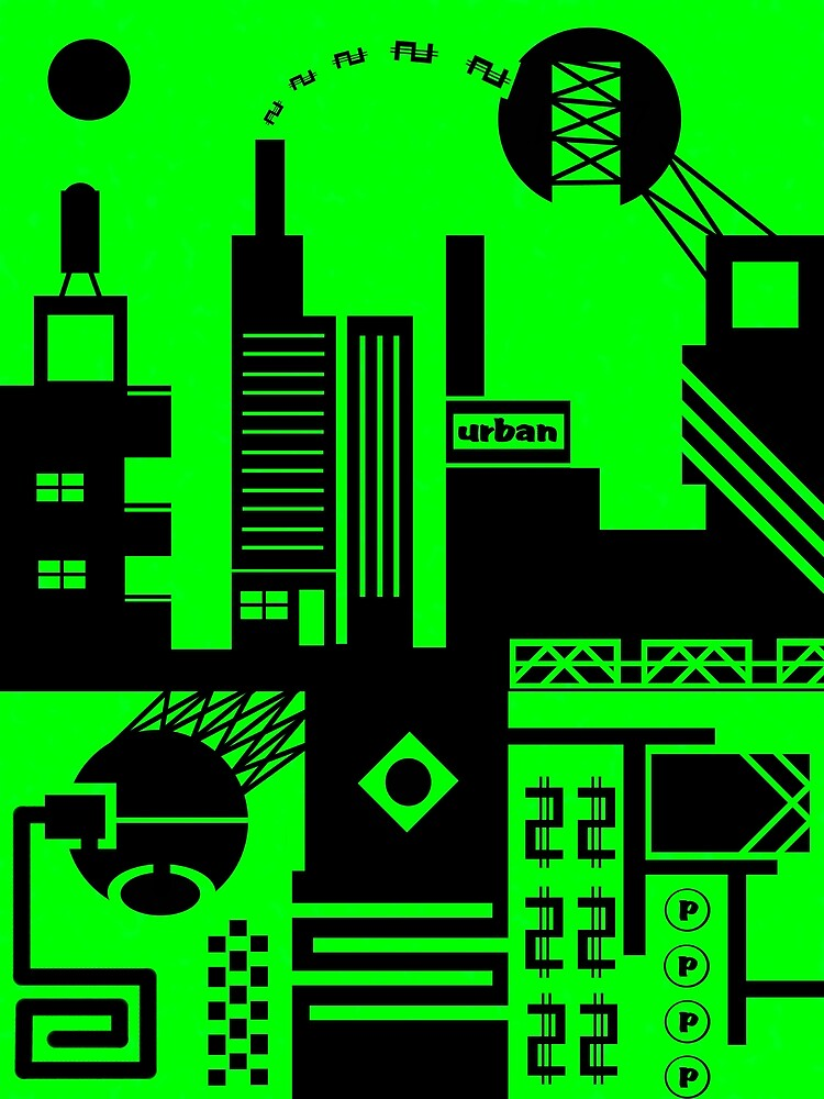 abstract urban 6 by dar geloni