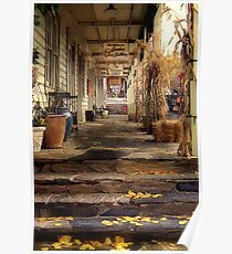 Autumn in Sutter Creek Poster
