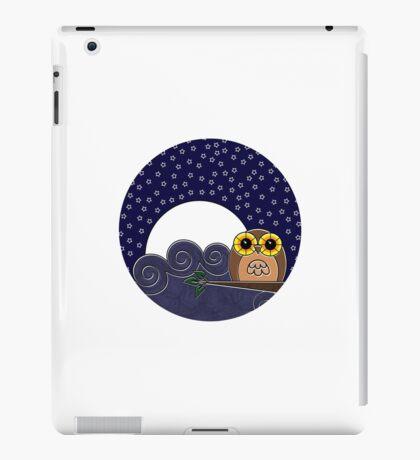 Night Owl - Circle Design iPad Case/Skin