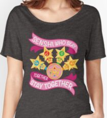 Slay Together, Stay Together - Sailor Scouts Clean Women's Relaxed Fit T-Shirt