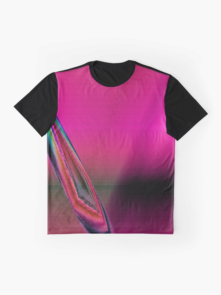 Alternative Ansicht von fuxart abstract one pink Grafik T-Shirt
