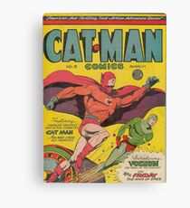 Cat-Man (Holyoke) Canvas Print