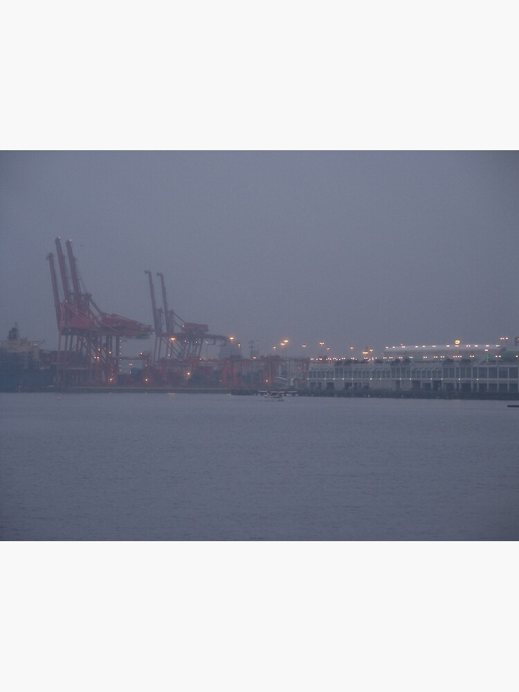 Coming to work in the fog, Vancouver, Canada, 2007 by chrisculy