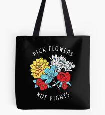 Bolsa de tela Camisa de flores