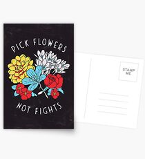 Flower Shirt Postcards