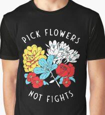 Blumen-Shirt Grafik T-Shirt