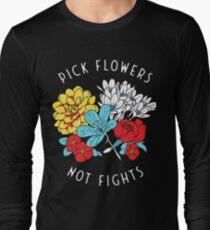 Blumen-Shirt Langarmshirt