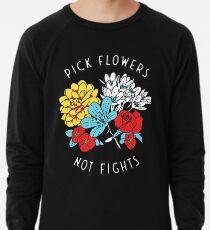 Blumen-Shirt Leichtes Sweatshirt
