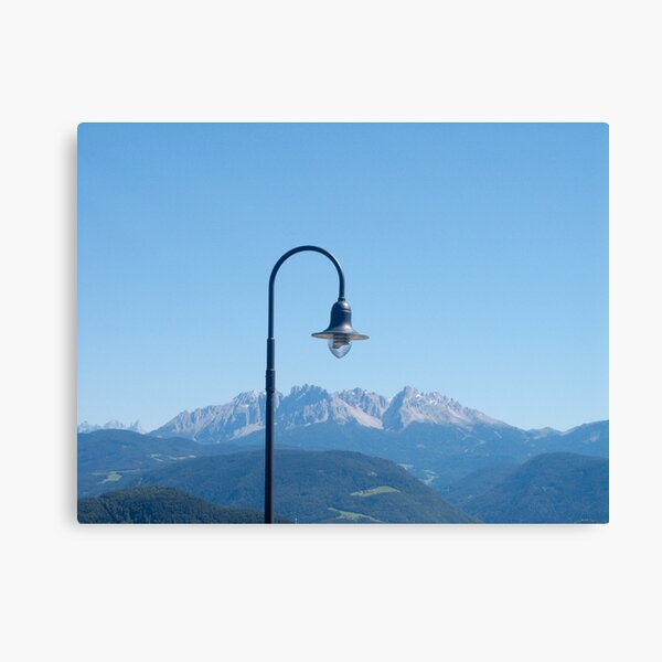 Mountain light,  Bolzano-Bozen, Italy, 2008 Canvas Print