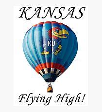 Kansas - Flying High! Photographic Print