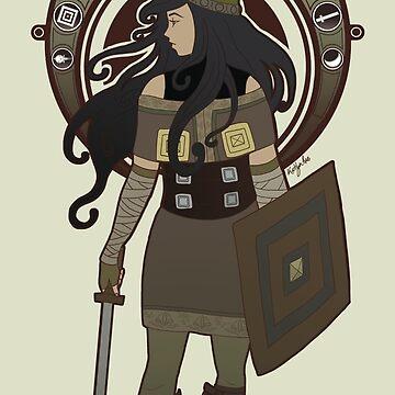 Scythian Nouveau by skittzi