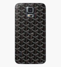Goyard Black Hülle & Klebefolie für Samsung Galaxy