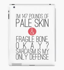Teen Wolf - Sarcasm iPad Case/Skin